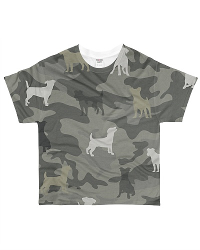 Jack Russell Terrier Camouflage