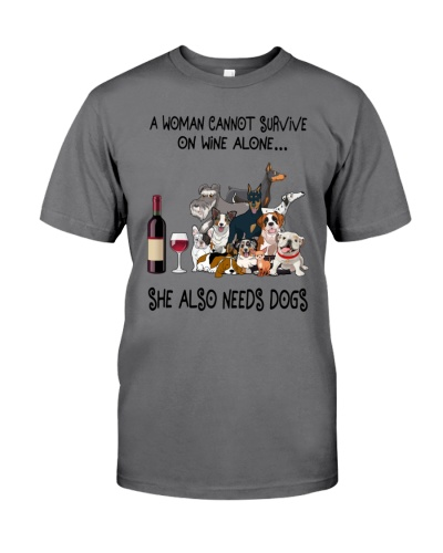 A Woman Cannot Survive One Wine Alone
