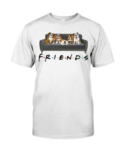 English Bulldog Friends