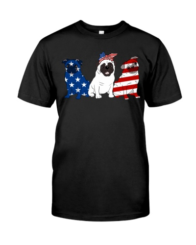 Flag Pug