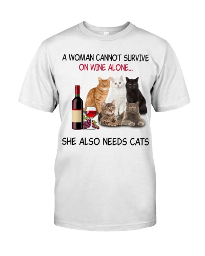 A Woman Cannot Survive Cats
