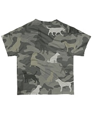 Dogs Camouflage All-over T-Shirt back