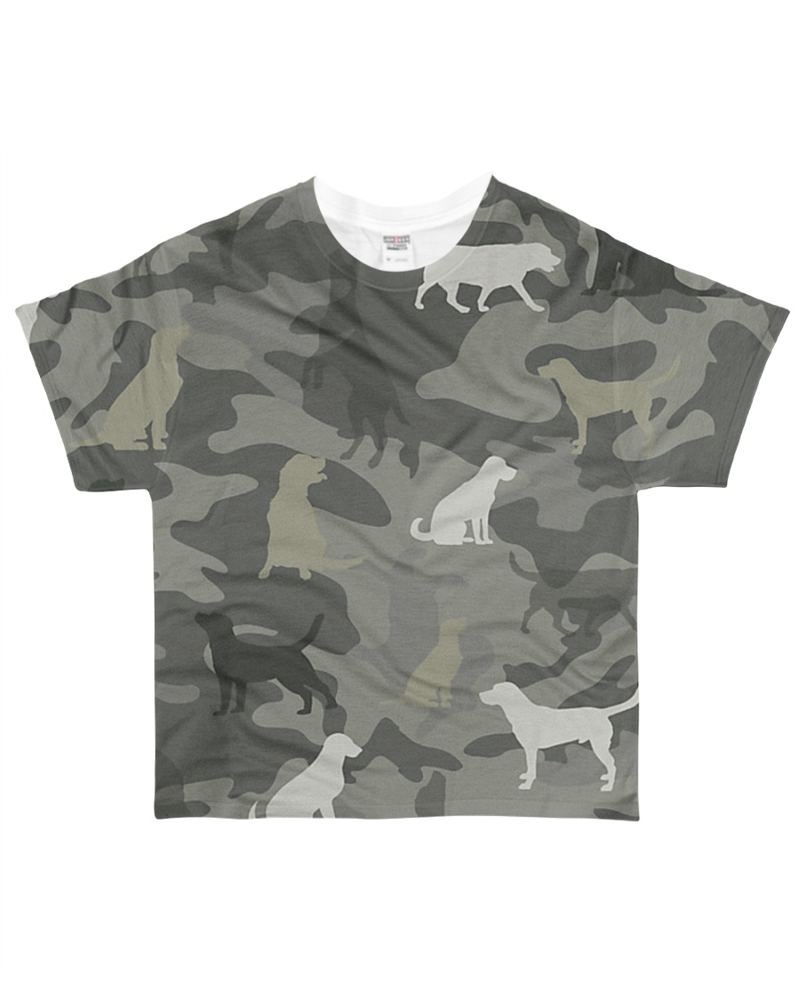 Dogs Camouflage All-over T-Shirt
