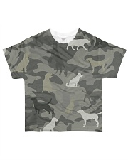 Dogs Camouflage All-over T-Shirt front