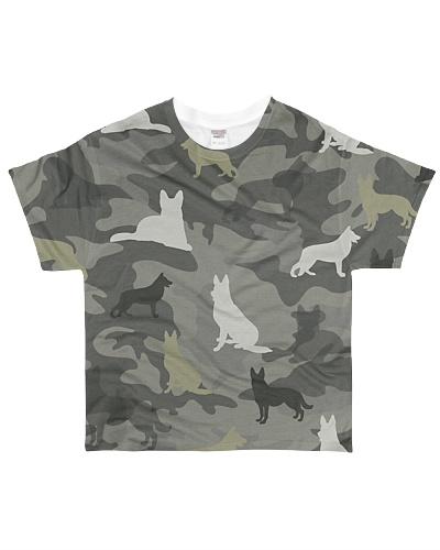 German Shepherd Camouflage