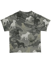 American Pit Bull Terrier Camouflage All-over T-Shirt back