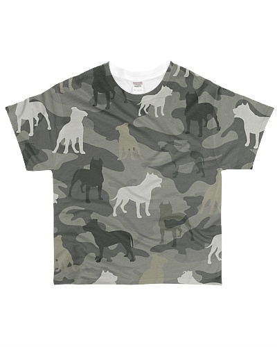 American Pit Bull Terrier Camouflage