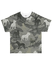 American Pit Bull Terrier Camouflage All-over T-Shirt front