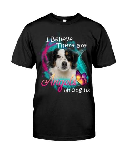 I Believe There Are Angels Australian Shepherd