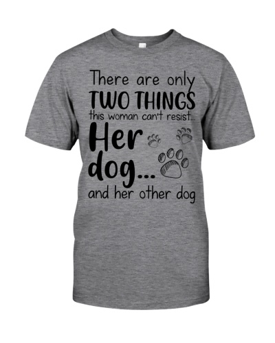 Woman Can't Resist Her Dog And Her Other Dog
