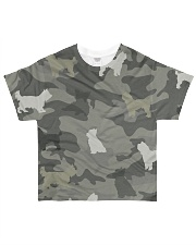 Yorkshire Camouflage All-over T-Shirt front