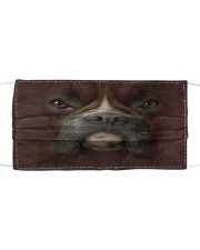 Boxer Cloth face mask front