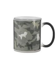 Poodle Camouflage Color Changing Mug thumbnail