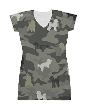 Poodle Camouflage All-over Dress thumbnail
