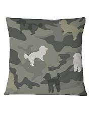 Poodle Camouflage Square Pillowcase thumbnail