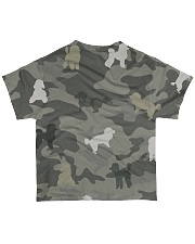 Poodle Camouflage All-over T-Shirt back