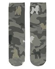 Poodle Camouflage Crew Length Socks thumbnail
