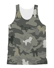 Poodle Camouflage All-over Unisex Tank thumbnail