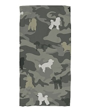 Poodle Camouflage Beach Towel thumbnail