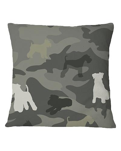 Miniature Schnauzer Camouflage