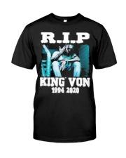R I P KING VON Classic T-Shirt front