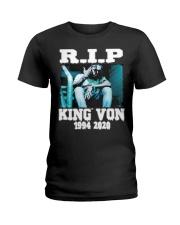 R I P KING VON Ladies T-Shirt thumbnail