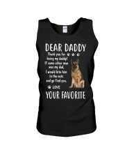 Dear Daddy - Your Favorite - Dog Unisex Tank thumbnail
