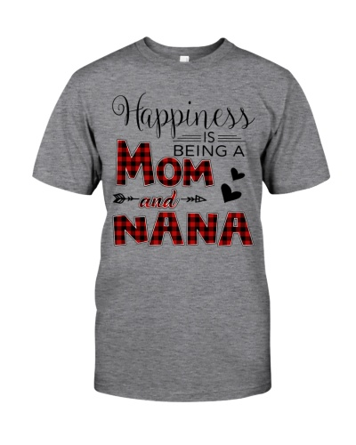 Happiness is being a mom and Nana
