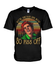 We're grown ups now-So piss off V-Neck T-Shirt thumbnail