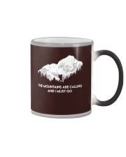 The Mountains Are Calling Color Changing Mug thumbnail