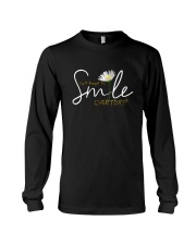 DON'T FORGET TO SMILE EVERYDAY Long Sleeve Tee thumbnail