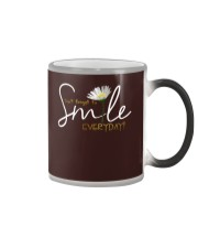 DON'T FORGET TO SMILE EVERYDAY Color Changing Mug thumbnail