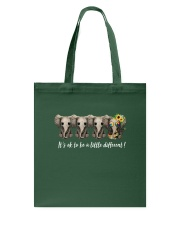 Its Ok To Be A Litlle Different Tote Bag thumbnail