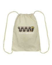 Its Ok To Be A Litlle Different Drawstring Bag thumbnail