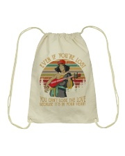 Event if you're lost Drawstring Bag thumbnail
