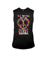 Old hippie don't die Sleeveless Tee thumbnail