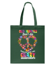 Old hippie don't die Tote Bag thumbnail