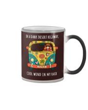 On a dark desert highway HP01 Color Changing Mug thumbnail