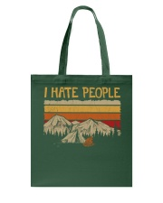 I hate people CP01 Tote Bag thumbnail