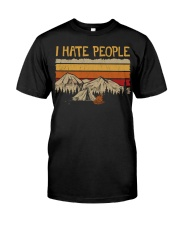 I hate people CP01 Classic T-Shirt front