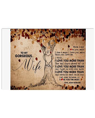 TO MY GORGEOUS WIFE B01