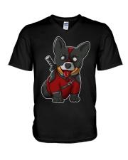 Dogpool V-Neck T-Shirt thumbnail