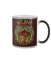 Hey baby - Take a walk on the wild side Color Changing Mug thumbnail