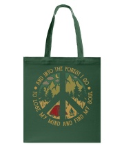 And into forest i go to Tote Bag thumbnail