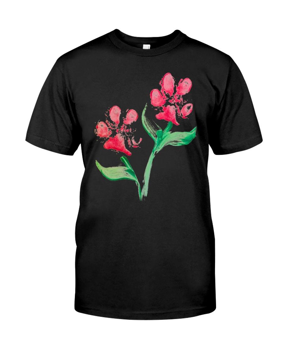 Dog - Flower 01 Classic T-Shirt