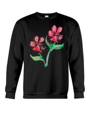Dog - Flower 01 Crewneck Sweatshirt thumbnail