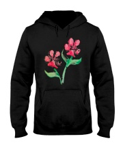 Dog - Flower 01 Hooded Sweatshirt thumbnail