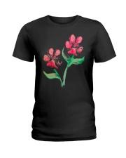 Dog - Flower 01 Ladies T-Shirt thumbnail