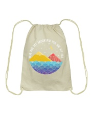 You are my mountain you are my sea Drawstring Bag thumbnail