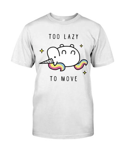Too Lazy To Move Unicorn